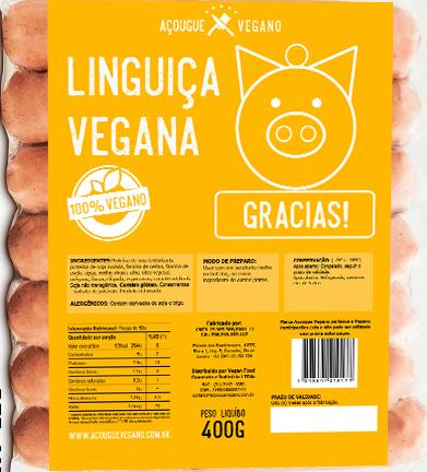 Linguiça Calabresa Vegana